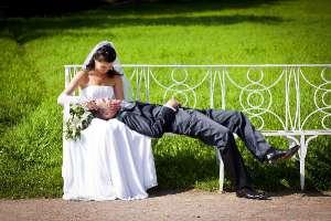 Свадебное фото Ирины и Ильдара