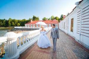Свадебная фотосъемка в Петергофе Людмилы и Антона Питер