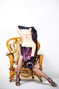 Фото в студии: Мария